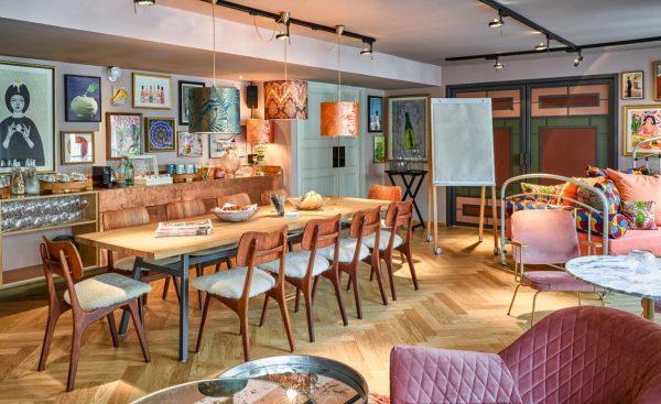hotel 25hours paris restaurante