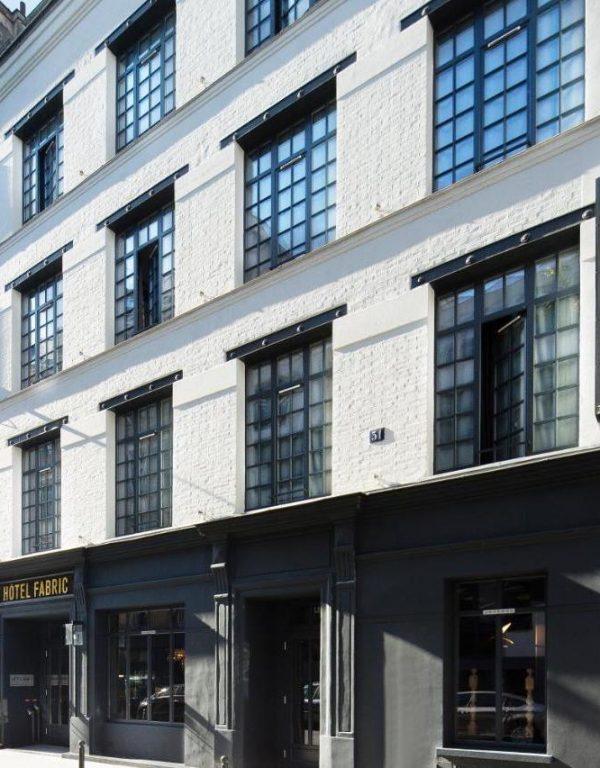 hotel fabric exterior